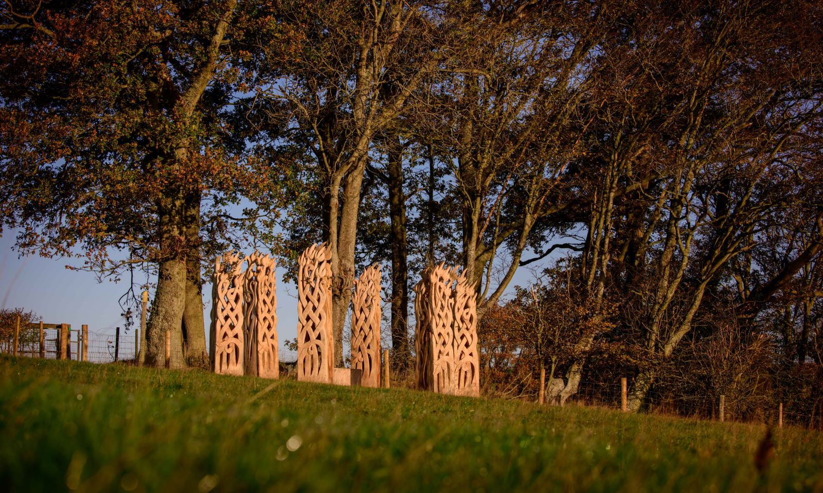Henge at Westfield - copyright Jim Holden