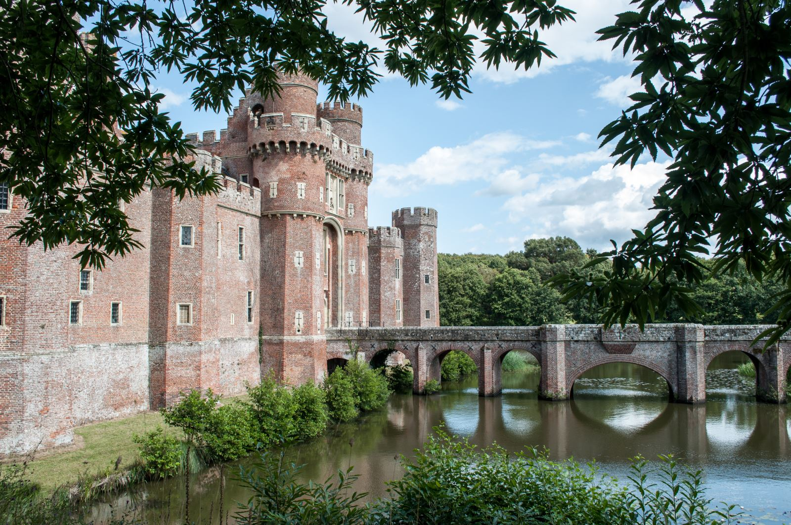 Herstmonceux Castle by Suzanne Jones of Sussex Bloggers