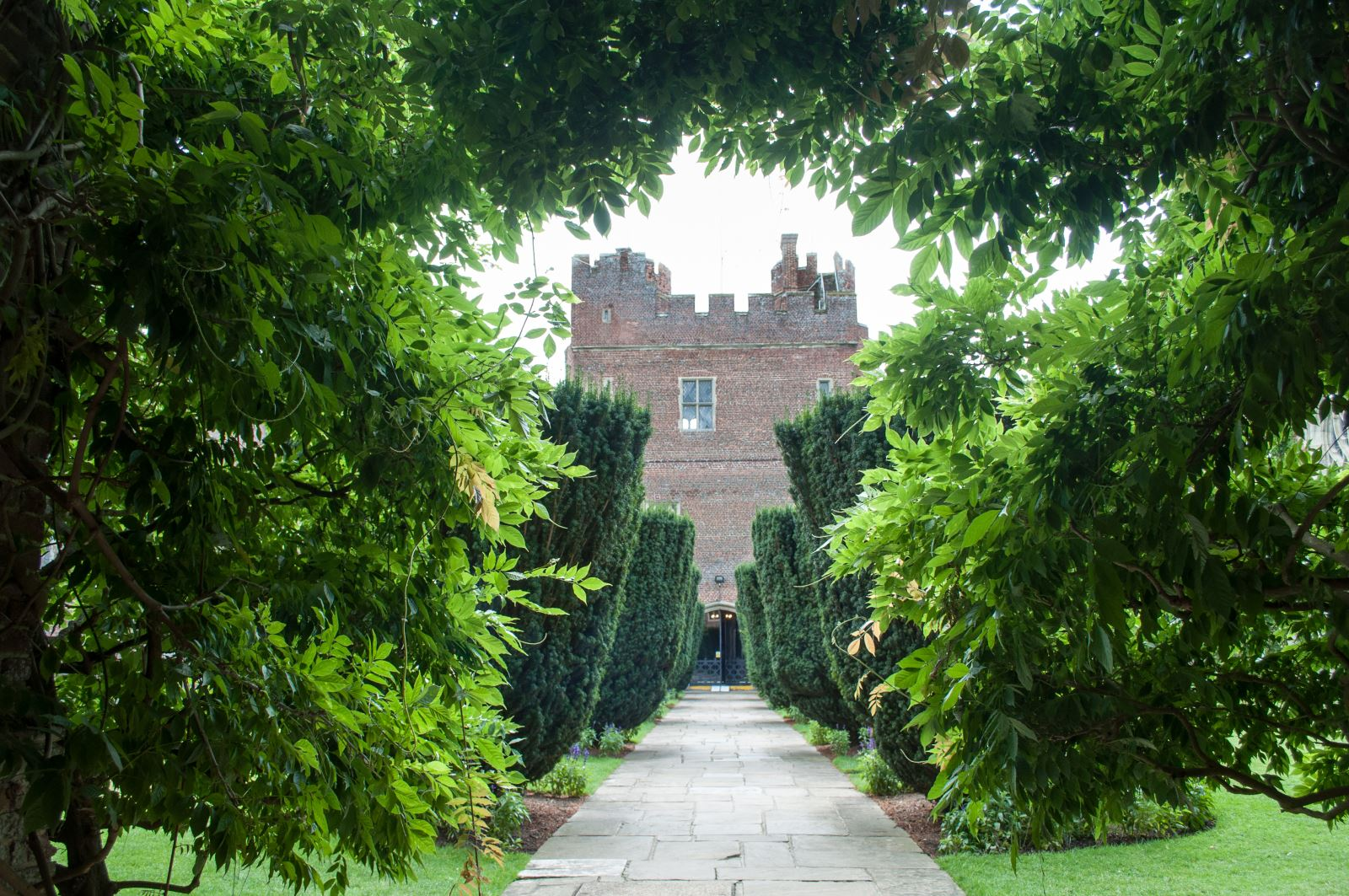 The gardens of Herstmonceux Castle by Suzanne Jones of Sussex Bloggers