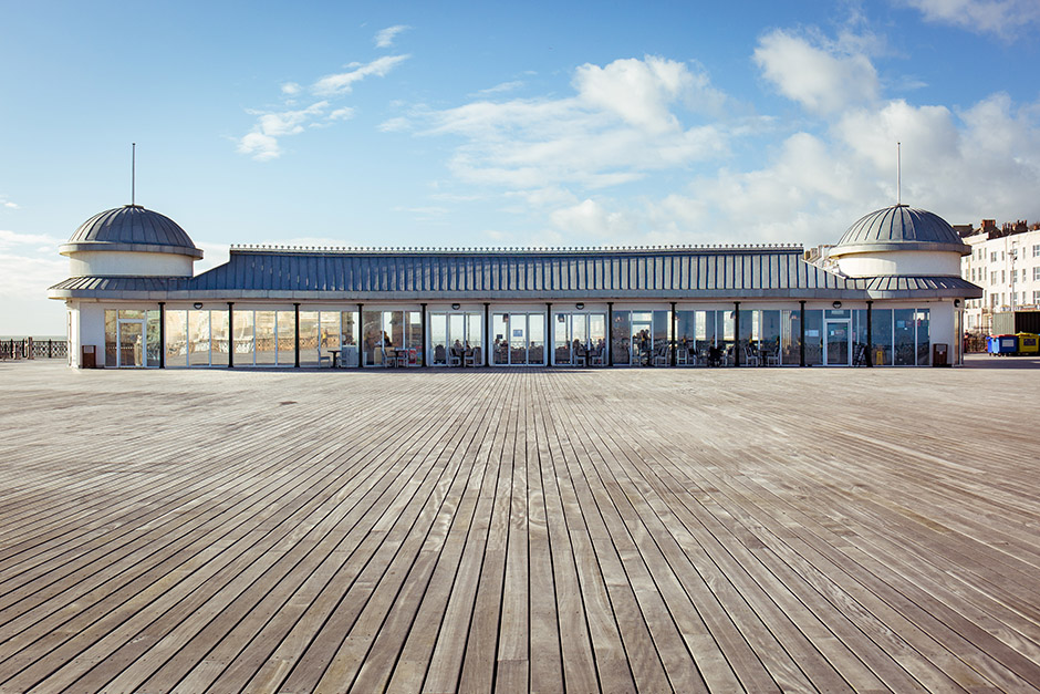 Pavillion on Hastings Pier