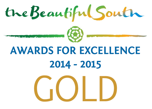 14/15 Gold Award - Beautiful South Awards for Excellence
