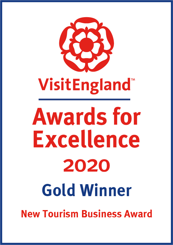 Visit England Awards for Excellence Gold Winner