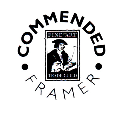 Commended Framer - Fine Art Trade Guild.