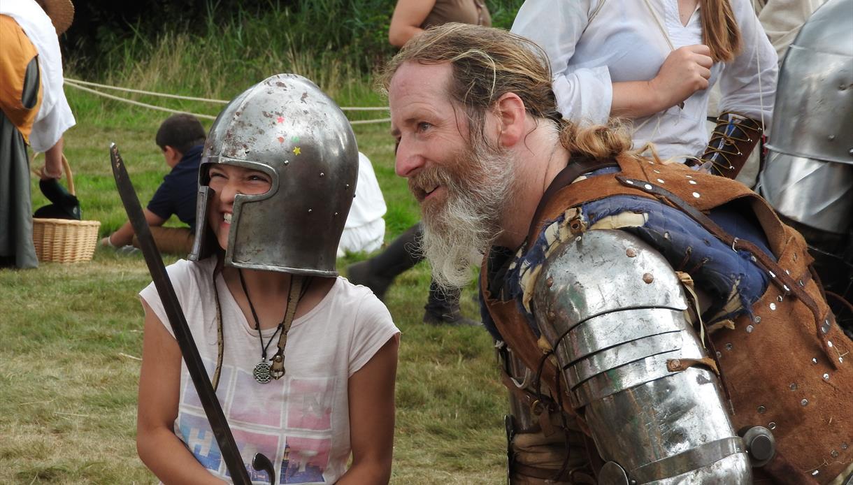 England's Medieval Festival 2019 - Festival in Herstmonceux, East