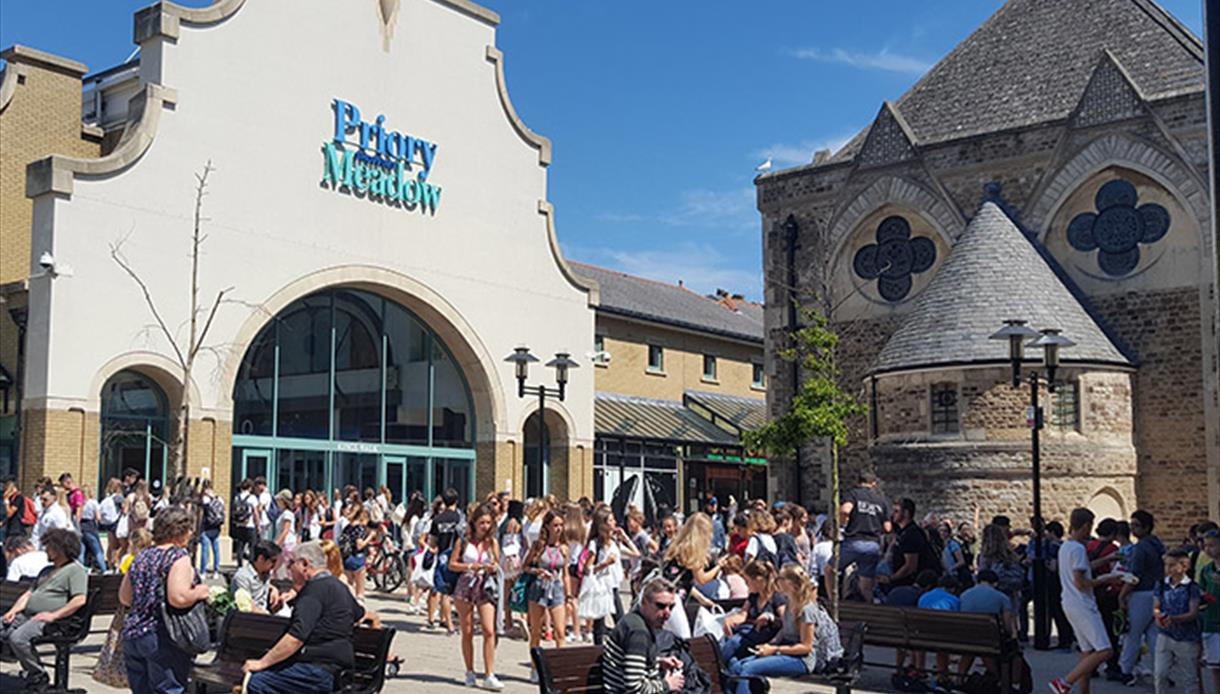 Priory Meadow Shopping Centre Hastings Visit 1066 Country