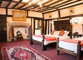 Bedroom at The Mermaid Inn, Rye, East Sussex