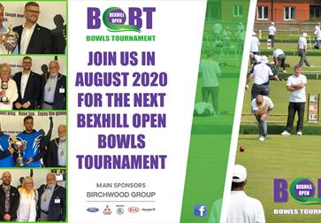 Bexhill Open Bowls Tournament