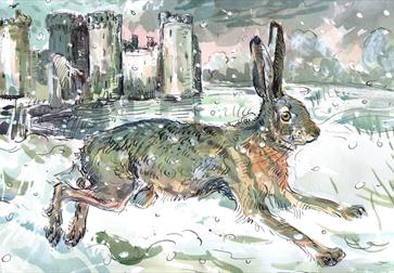 Claire Fletcher Exhibition at Bodiam Castle