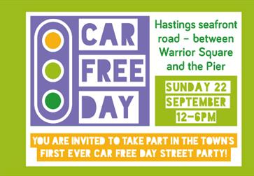 Car free day in Hastings