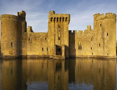 Bodiam Castle, East Sussex ©National Trust Images Chris Lacey