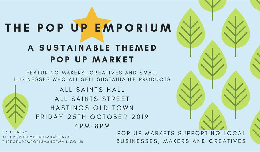 The Pop Up Emporium - Sustainable Themed Pop Up Market