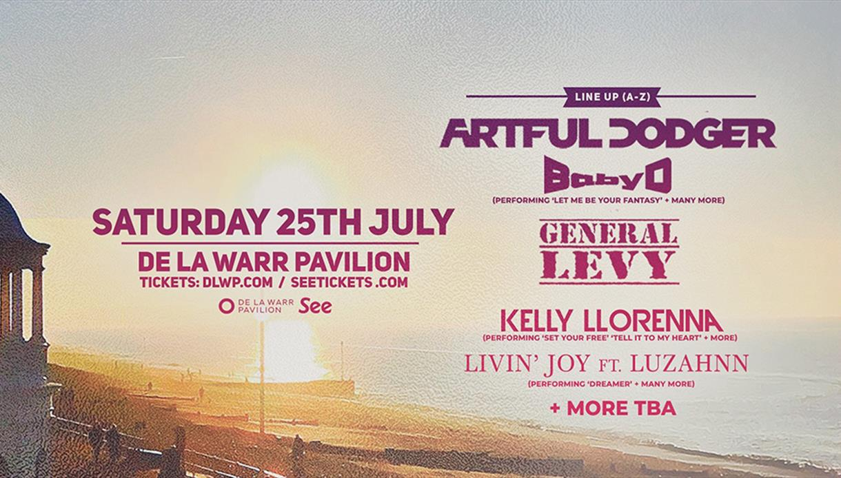 Bexfest: Artful Dodger, Baby D, General Levy + Many More