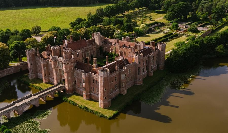 Herstmonceux Castle, Gardens and Grounds