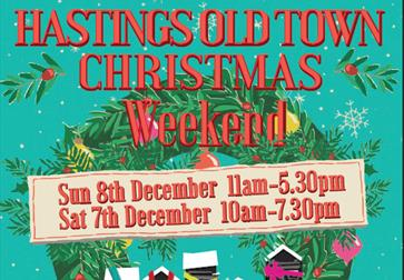 Hastings Old Town Christmas Shopping Weekend