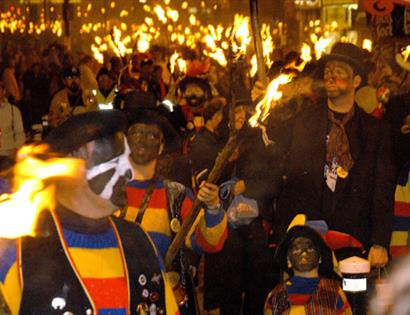 Hastings Bonfire Procession, part of Hastings Week