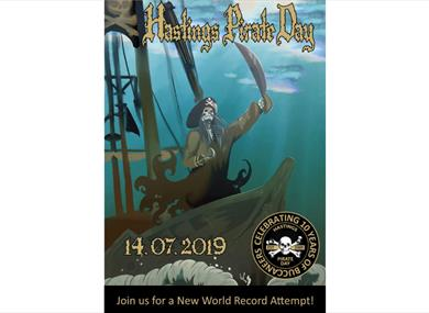 Hastings Pirate Day 2019