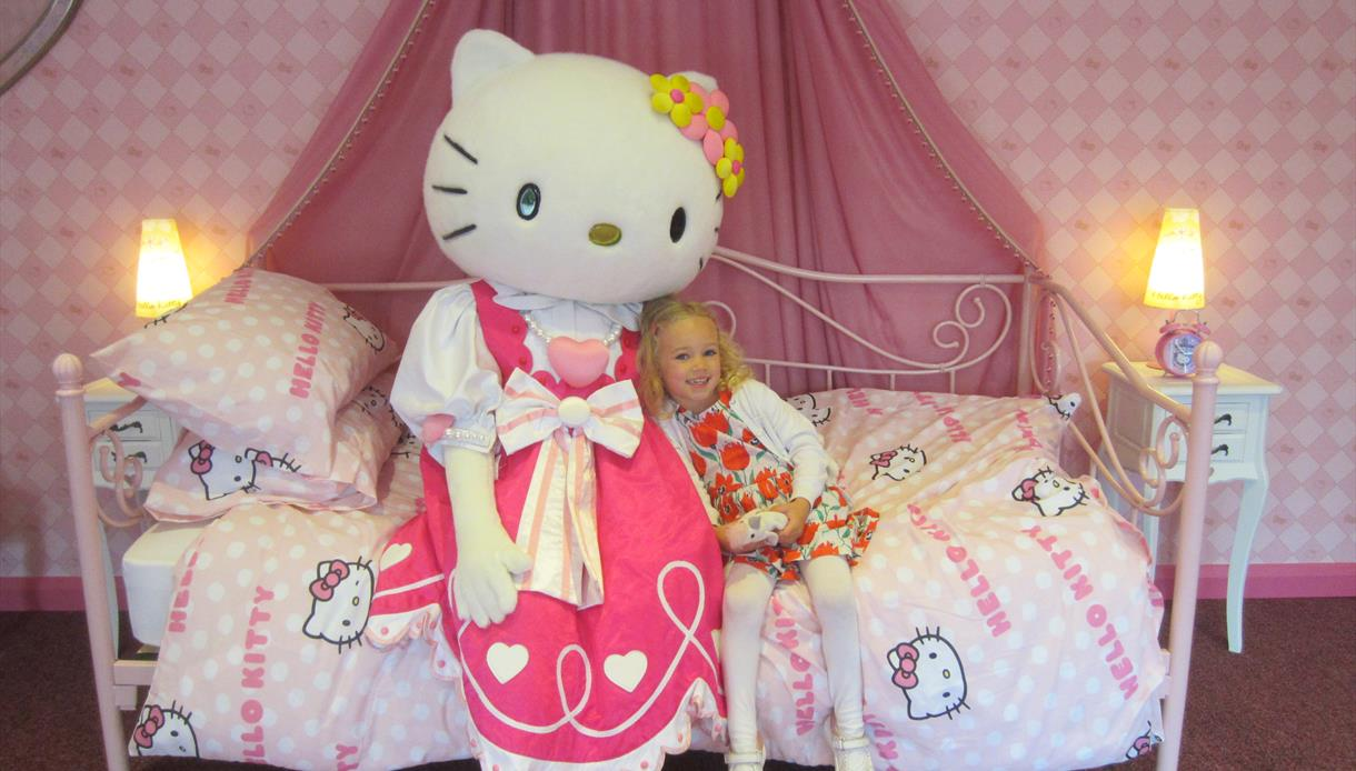 Meet Hello Kitty at Drusillas