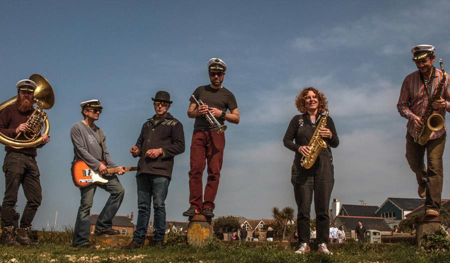 The Native Oysters, who will be playing at the Jenny Lind in Hastings this Music Month.
