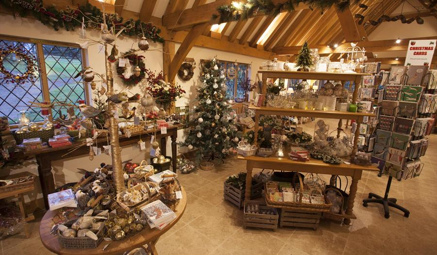 Christmas shopping at Pashley Manor