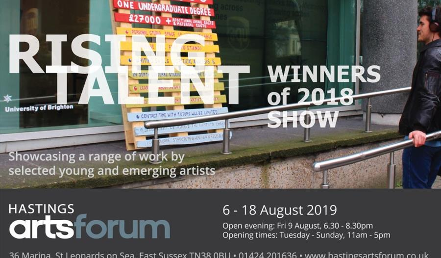 Rising Talent Winners Show at Hastings Arts Forum