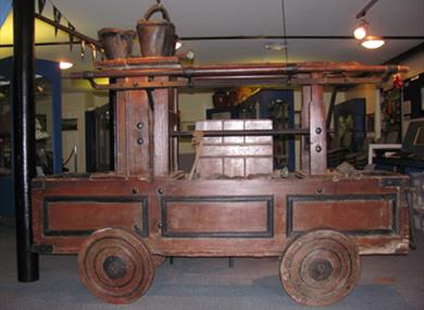 Fire engine at Rye Castle Museum