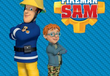 Meet and Greet Fireman Sam and Norman