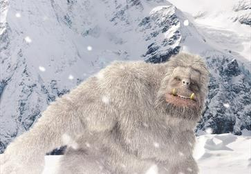 Meet the Abominable Snowman