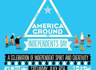 America Ground Independents Day