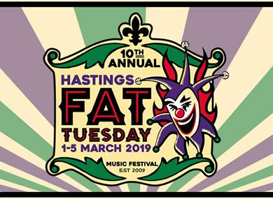 Hastings Fat Tuesday: Fat Friday Launch Party