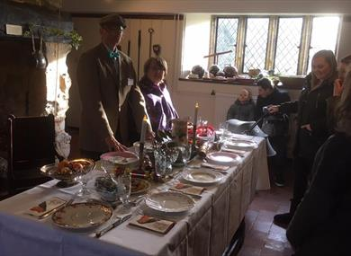 Victorian Christmas (A Christmas Carol Christmas) at Michelham Priory
