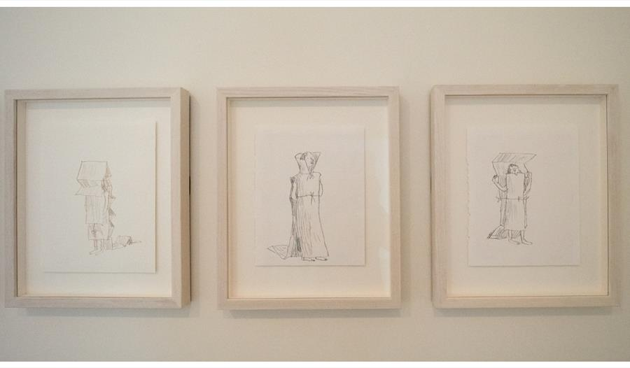 Quentin Blake at Hastings Contemporary: The New Dress