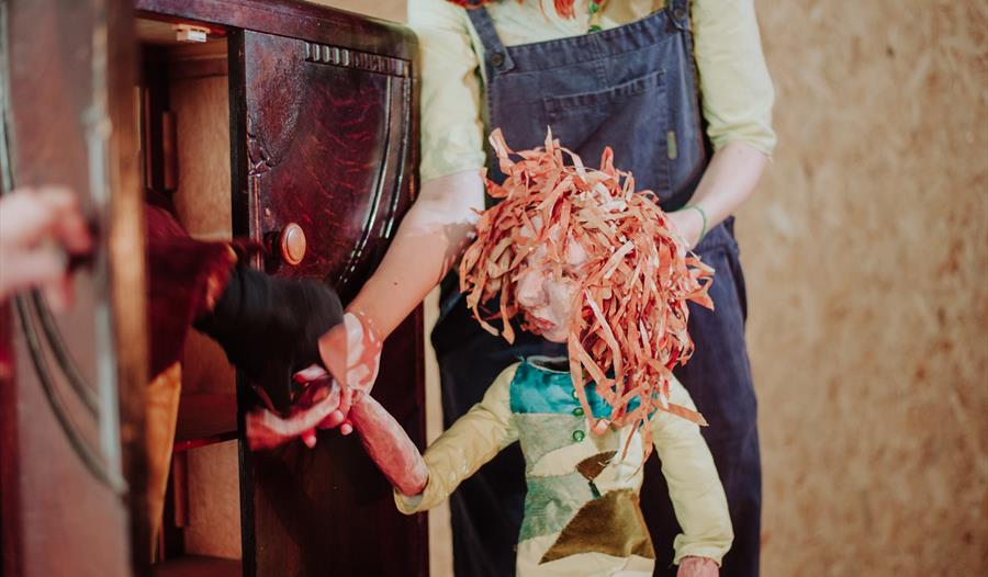 Children's puppet making drop-ins at Bateman's