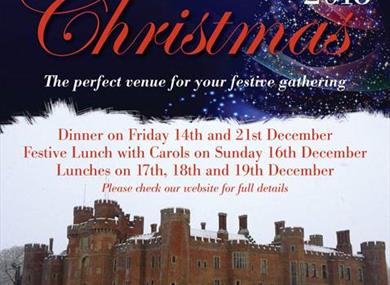 Christmas Lunch in a Castle